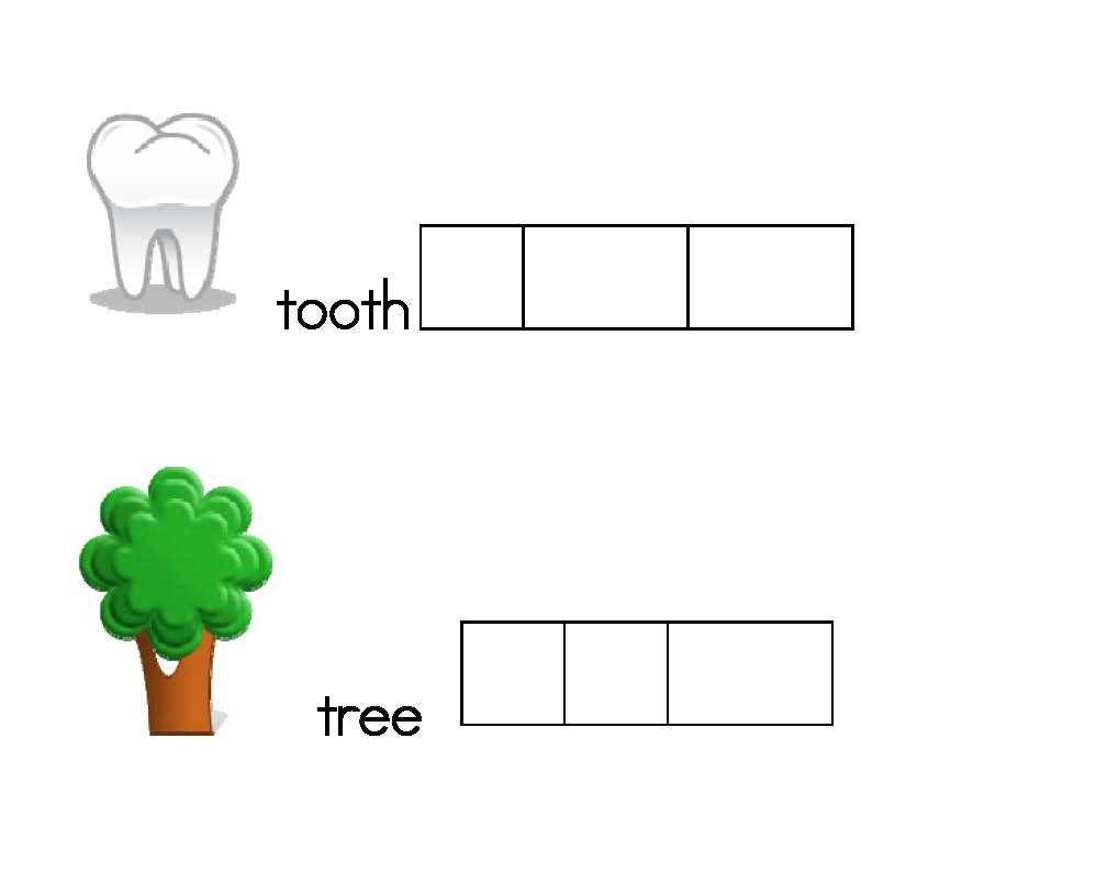 Elkonin Box Templates - Classroom Freebies - Free Printable Elkonin Boxes