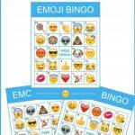 Emoji Bingo Game With Apple Emojis | Free Party Printables And More   Free Emoji Bingo Printable