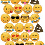 Emoji Cupcake Toppers Free Printable | Birthday Party | Emoji   Free Printable Emoji Faces