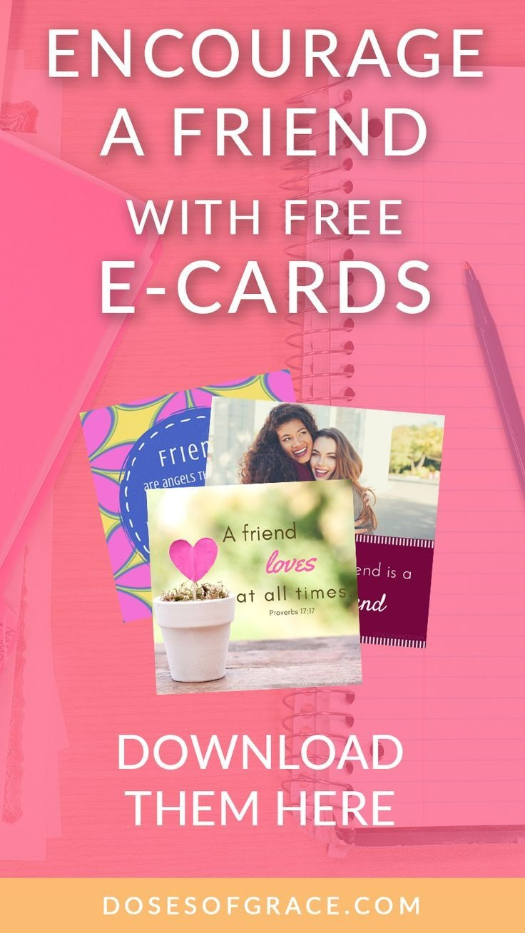 Encourage A Friend With These Free Ecards | Journal Ideas - Free Printable Christian Cards Online