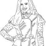 Evie From Disney's #descendants | Free Printables | Descendants   Free Printable Descendants Coloring Pages
