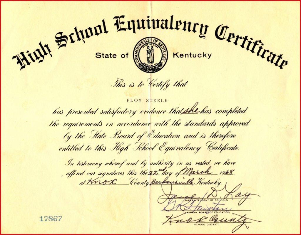Fake Ged Certificate For Free | Katieroseintimates - Free Printable Ged Certificate
