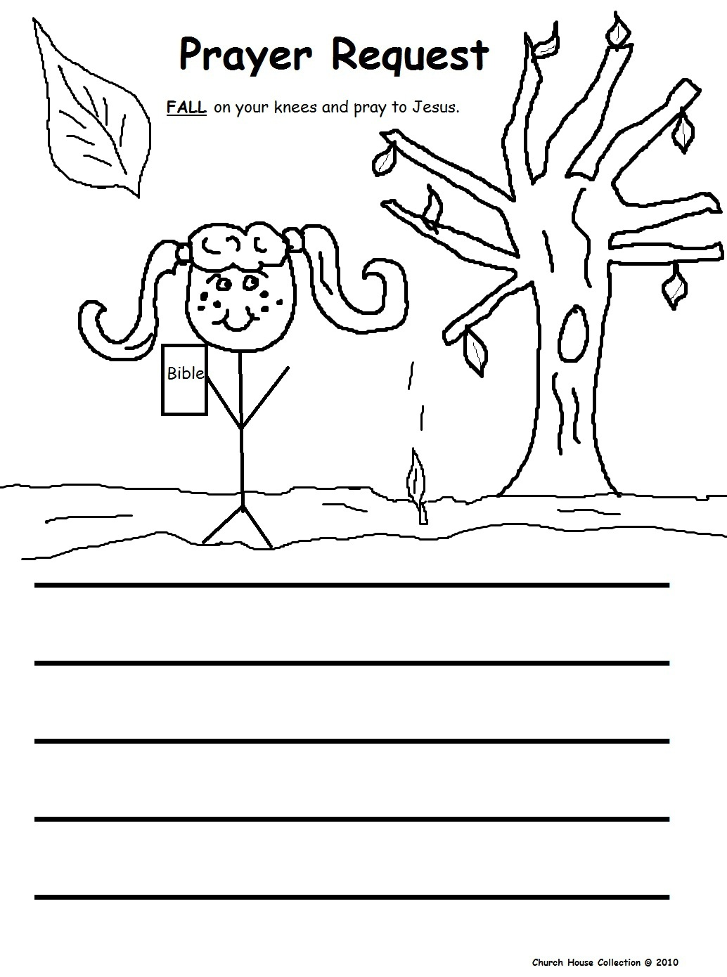 Fall Prayer Sunday School Lesson - Free Printable Sunday School Lessons For Youth