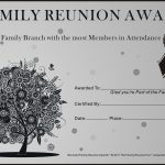 Family Reunion Ideas | Family Reunion Certificates   Oak Passion 2   Free Printable Family Reunion Awards