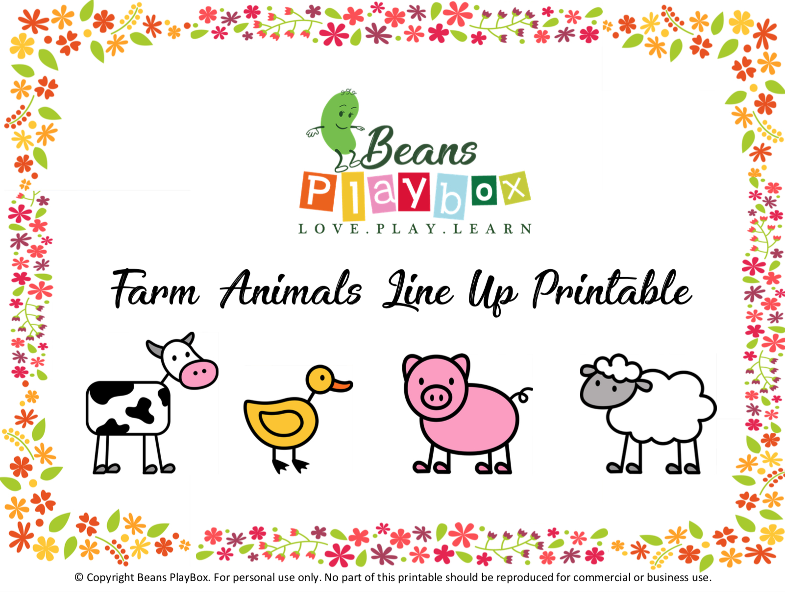 Farm Animal Printable, Free Printable, - Free Printable Farm Animals