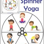 Fidget Spinner Yoga   Free Printable   Your Therapy Source   Free Printable Yoga Poses