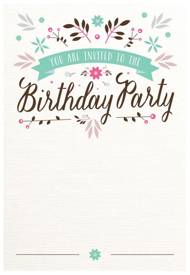 Free Printable Invitations Templates