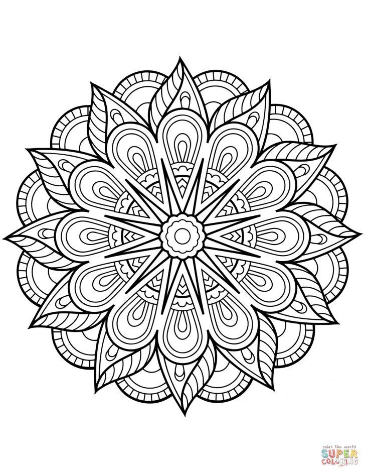 Free Printable Mandala Patterns
