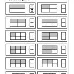 Fraction Model / Free Printable Worksheets – Worksheetfun   Free Printable Fraction Worksheets