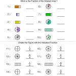 Fractions Worksheets | Printable Fractions Worksheets For Teachers   Free Printable Fraction Worksheets