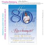 Free 80Th Birthday Invitations Templates | Free Printable - Printable Invitations Free No Download