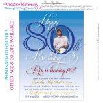 Free 80Th Birthday Invitations Templates | Free Printable   Printable Invitations Free No Download