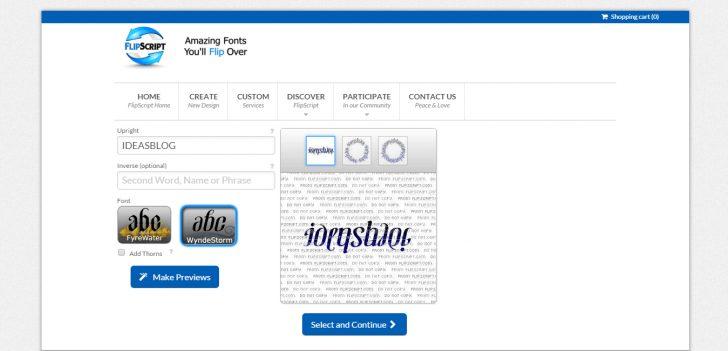 Ambigram Generator Free Printable