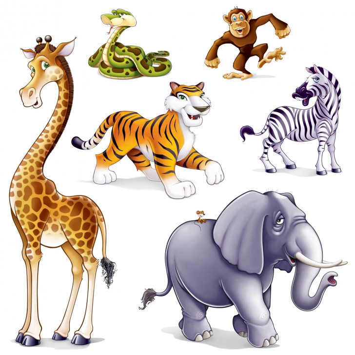 Free Printable Baby Jungle Animal Clipart