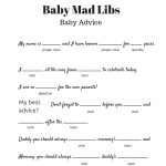 Free Baby Mad Libs Game   Baby Advice   Baby Shower Ideas   Themes   Mad Libs Online Printable Free