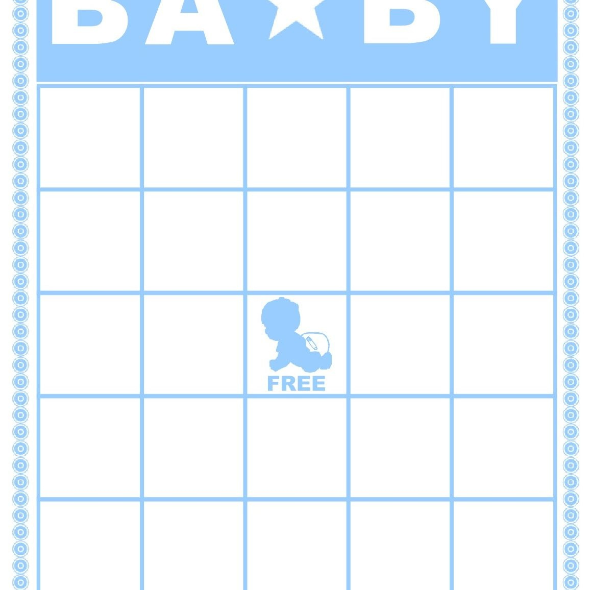 Free Baby Shower Bingo Cards Your Guests Will Love - Baby Bingo Game Free Printable