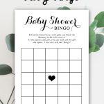 Free Baby Shower Printable – Baby Bingo - Instant Download In 2019 - Baby Bingo Game Free Printable