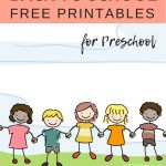 Free Back To School Printables For Preschoolers | Shapes | Preschool   Free Printable Preschool Teacher Resources