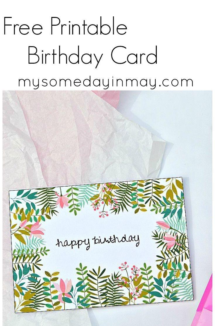 Free Birthday Card   Birthday Ideas   Free Printable Birthday Cards - Free Printable Birthday Cards For Your Best Friend