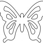 Free Butterfly Template, Download Free Clip Art, Free Clip Art On   Free Printable Butterfly Cutouts