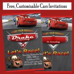 Free Cars Birthday Party Invitations – Printables 4 Mom – Free Printable Disney Cars Birthday Party Invitations