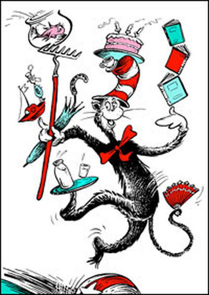 Free Printable Cat In The Hat Clip Art