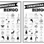 Free Christmas Bingo Printable Cards   Paper Trail Design   Free Printable Christmas Bingo
