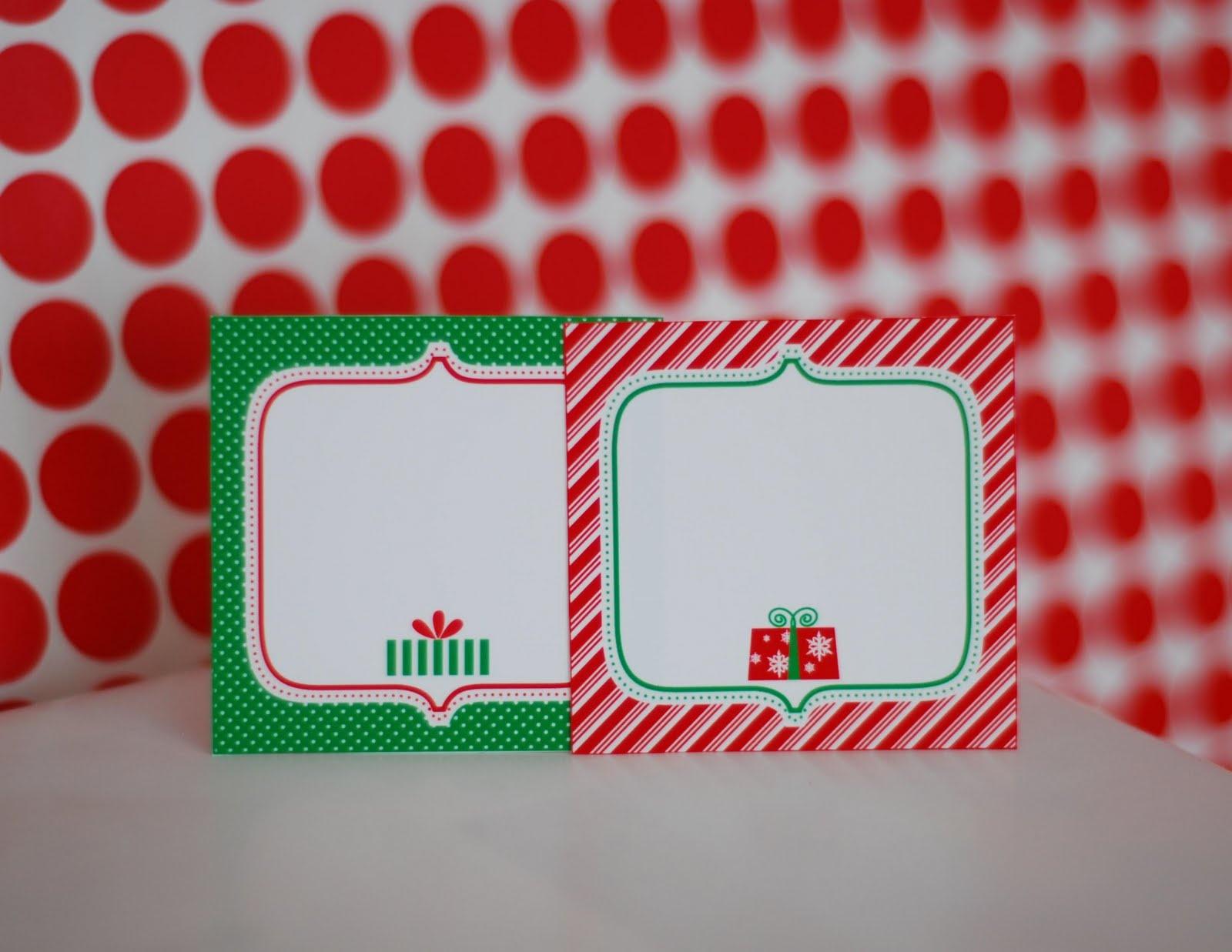 Free Christmas Food Labels Printable – Festival Collections - Free Printable Christmas Food Labels