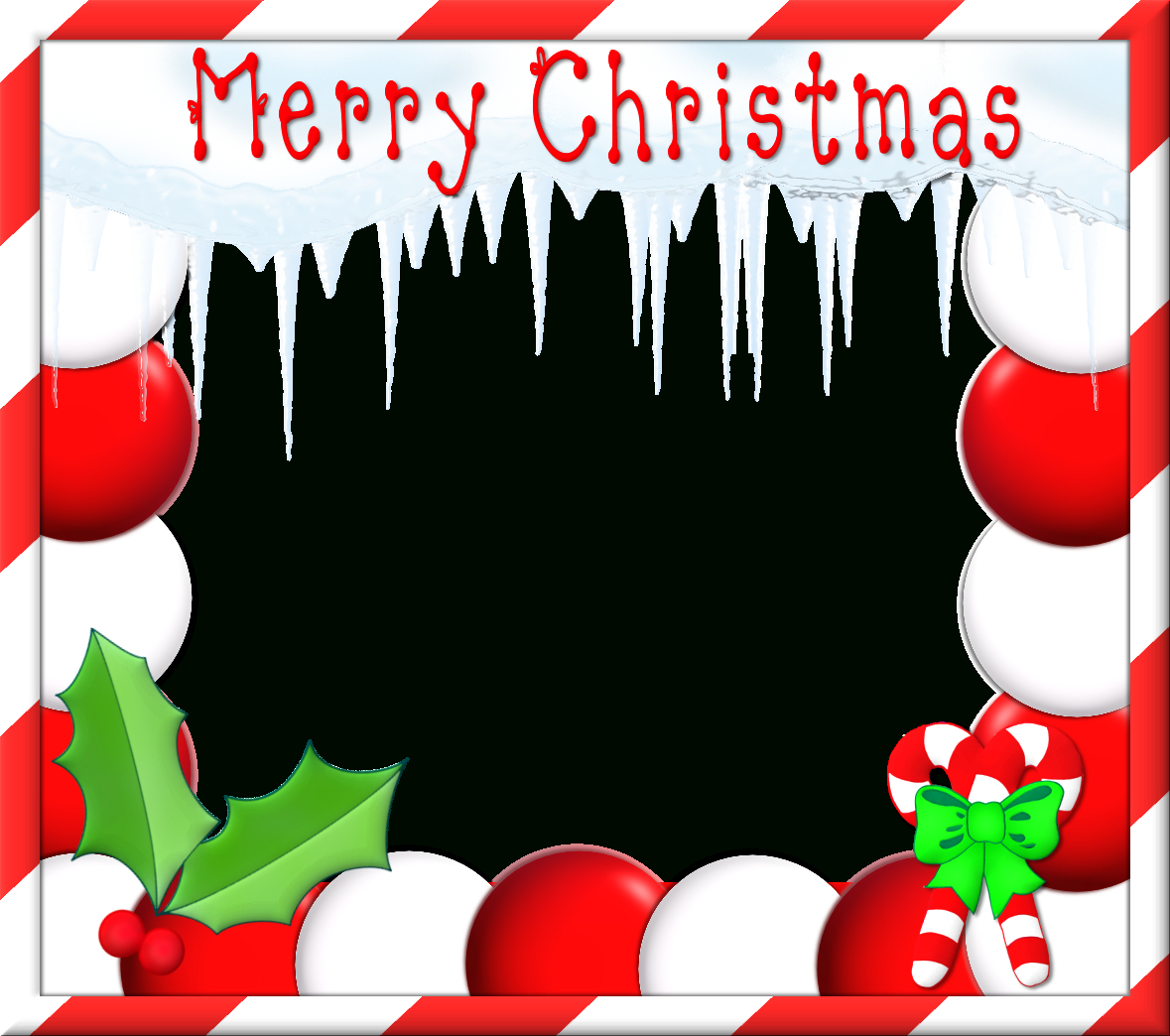 Free Christmas Frame Cliparts, Download Free Clip Art, Free Clip Art - Free Printable Christmas Frames And Borders