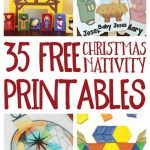 Free Christmas Nativity Printables And Coloring Pages   Free Printable Nativity Story Coloring Pages