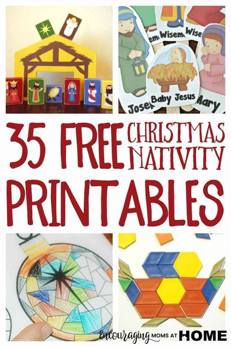 Free Christmas Nativity Printables And Coloring Pages - Free Printable Nativity Story Coloring Pages