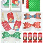 Free Christmas Printables: Gift Tags, Wrap Paper And Bows   Free Printable Customizable Gift Tags
