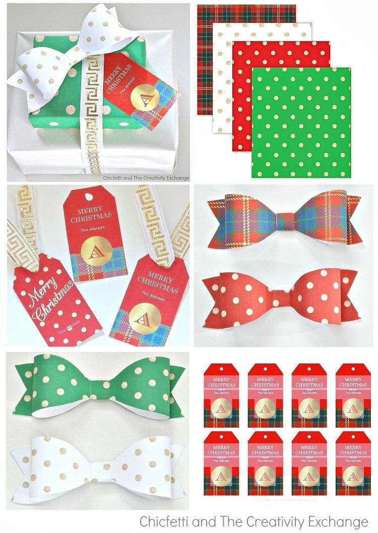Free Christmas Printables: Gift Tags, Wrap Paper And Bows - Free Printable Customizable Gift Tags