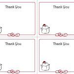 Free Christmas Thank You Notes Printable – Festival Collections   Free Christmas Thank You Notes Printable