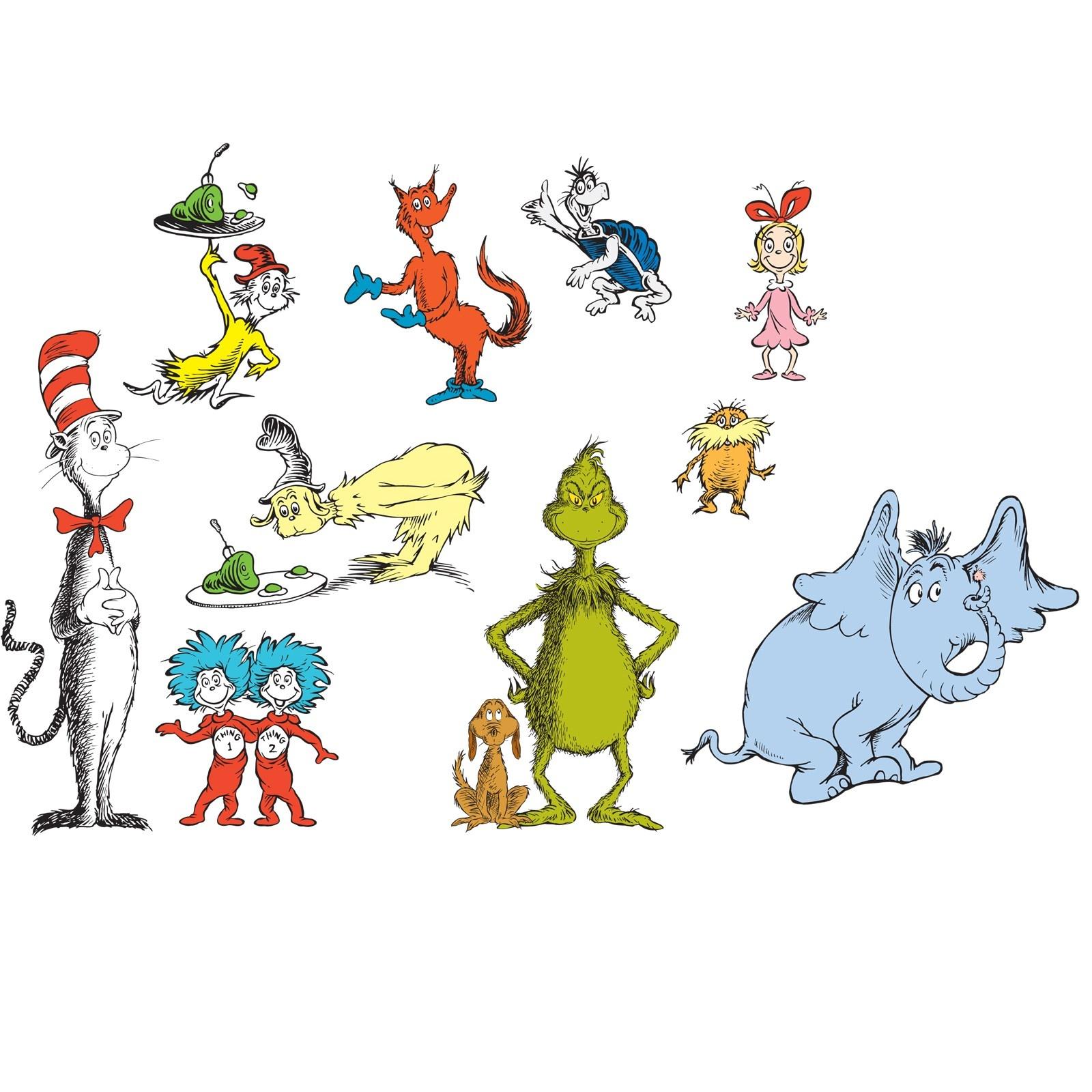 Free Clip Art Of Dr Seuss Characters – 101 Clip Art - Free Printable Dr Seuss Characters