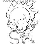 Free Coloring Page Of Chibi Ghostrider.   48 Best Chibi-Fusion - Free Printable Ghost Rider Coloring Pages
