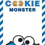Free Cookie Monster Birthday Invitation Templates   Bagvania   Free Printable Cookie Monster Birthday Invitations