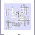 Free Crossword Maker For Kids - The Puzzle Maker Site - Crossword Maker Free And Printable