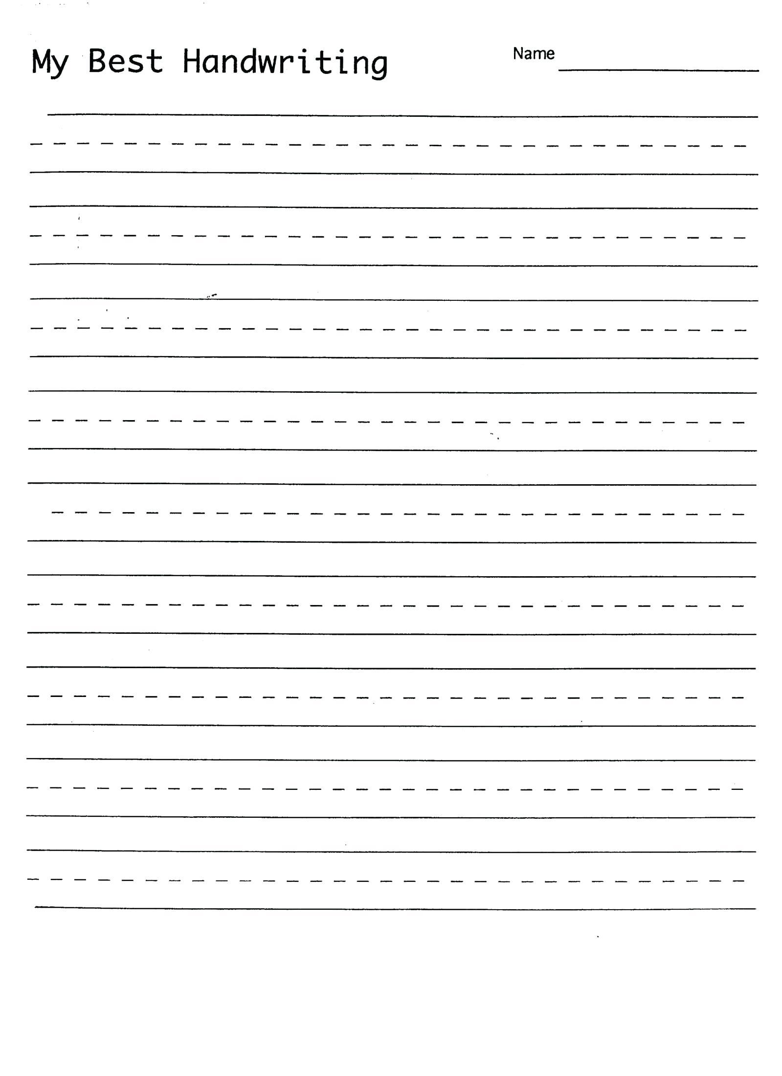 Free Cursive Sheets Writing Sheet Handwriting Free Alphabet - Free Printable Practice Name Writing Sheets