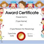 Free Custom Certificates For Kids   Customize Online & Print At Home   Free Printable Honor Roll Certificates Kids