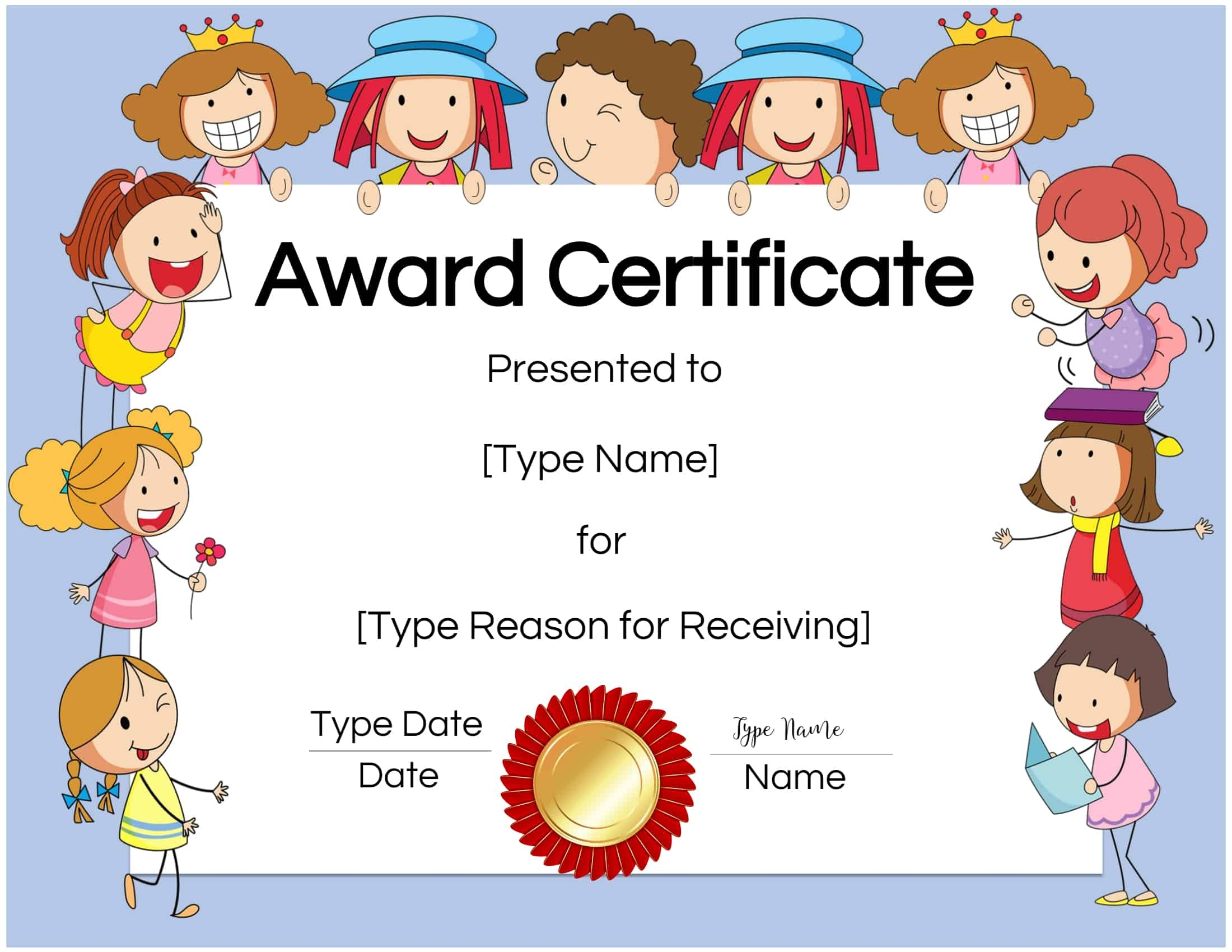 Free Custom Certificates For Kids   Customize Online & Print At Home - Free Printable Honor Roll Certificates Kids
