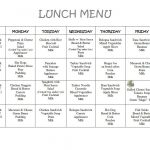 Free Daycare Menus To Print   8 Best Images Of Printable Preschool   Free Printable Daycare Menus