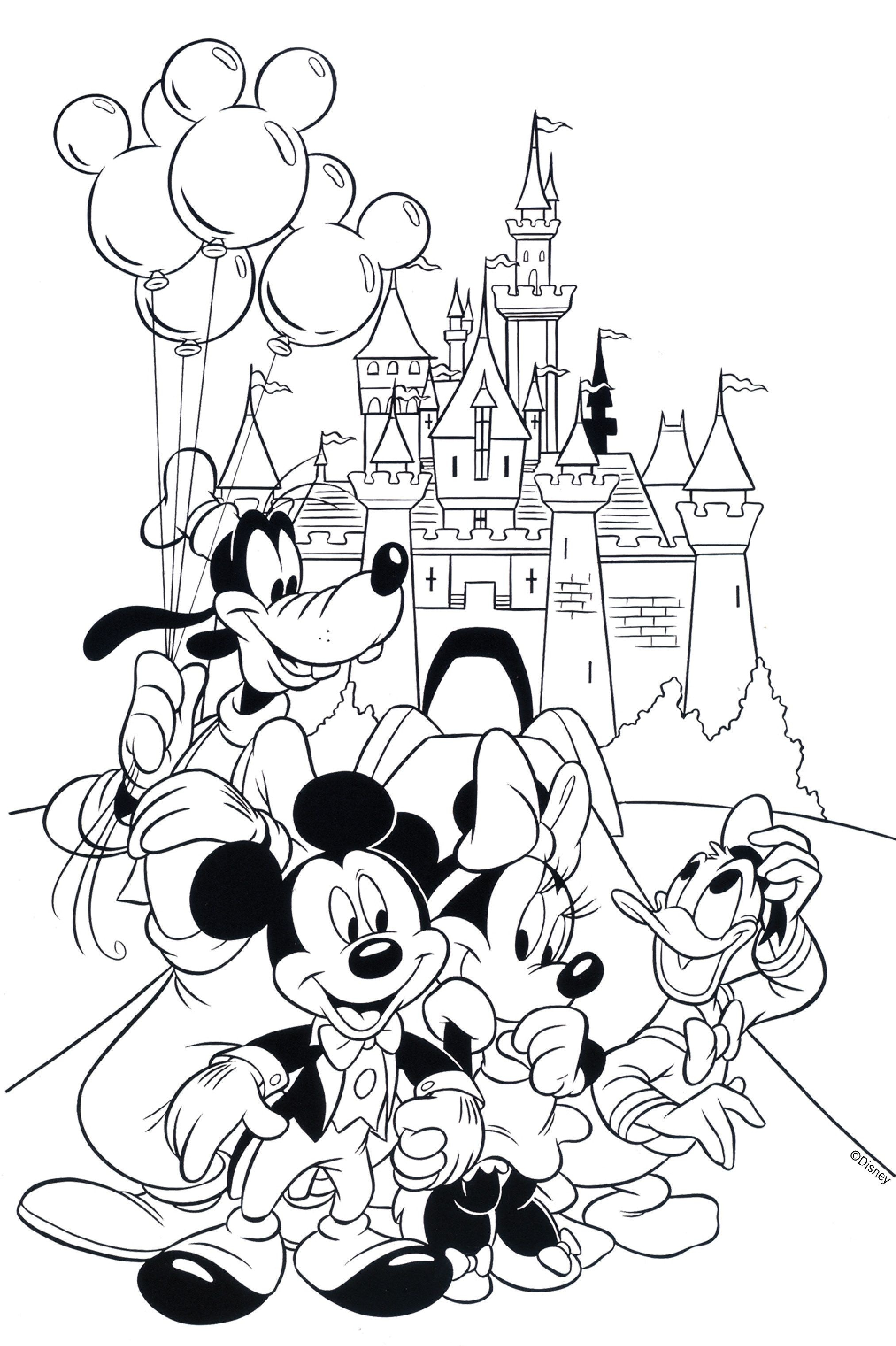 Free Disney Coloring Pages | Coloring Books | Coloring Pages, Free - Free Printable Disney Coloring Pages