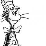 Free Download Cat In The Hat Black And White Clipart For Your   Free Printable Cat In The Hat Clip Art