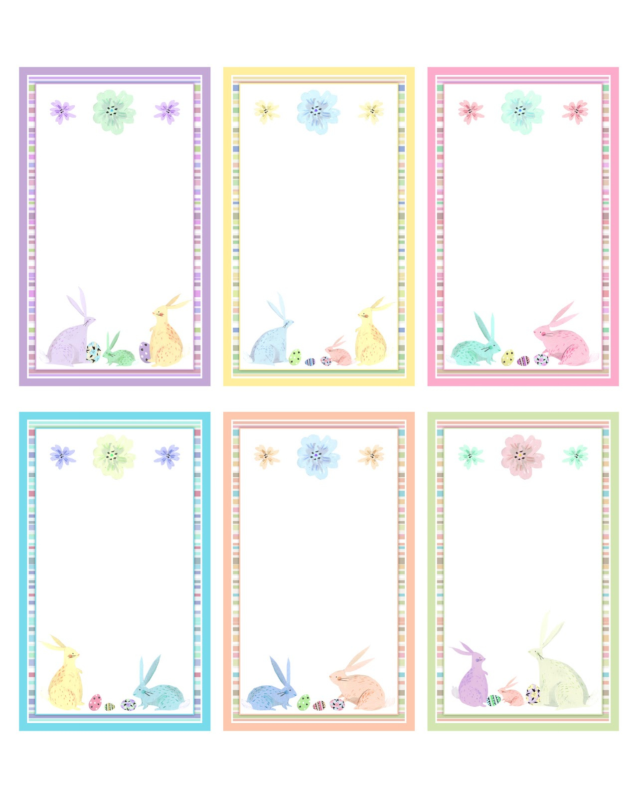 Free Easter And Spring Printables Party Pack - The Cottage Market - Free Easter Name Tags Printable