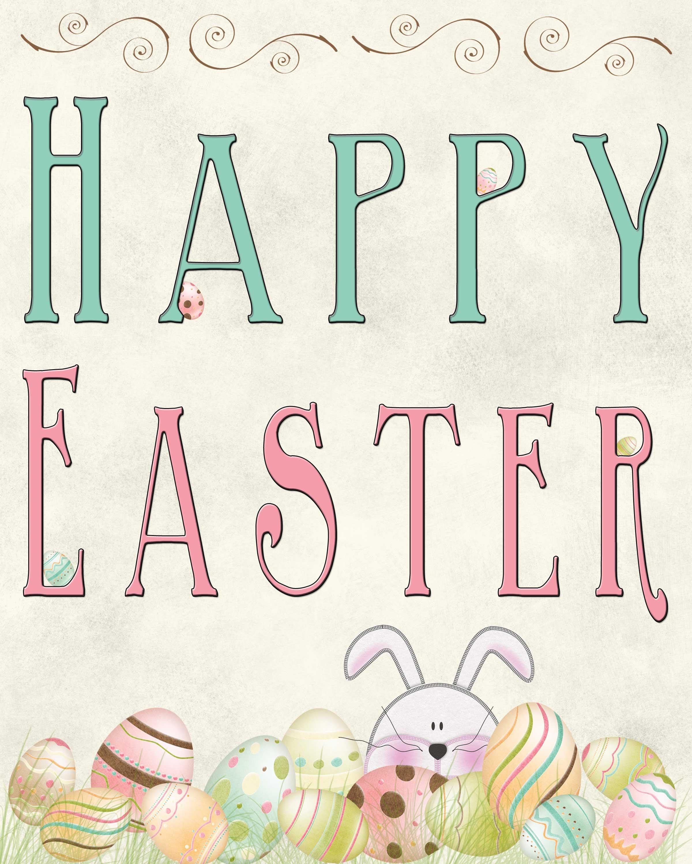 Free Easter Printable - Tgif - This Grandma Is Fun - Free Printable Easter Cards For Grandchildren