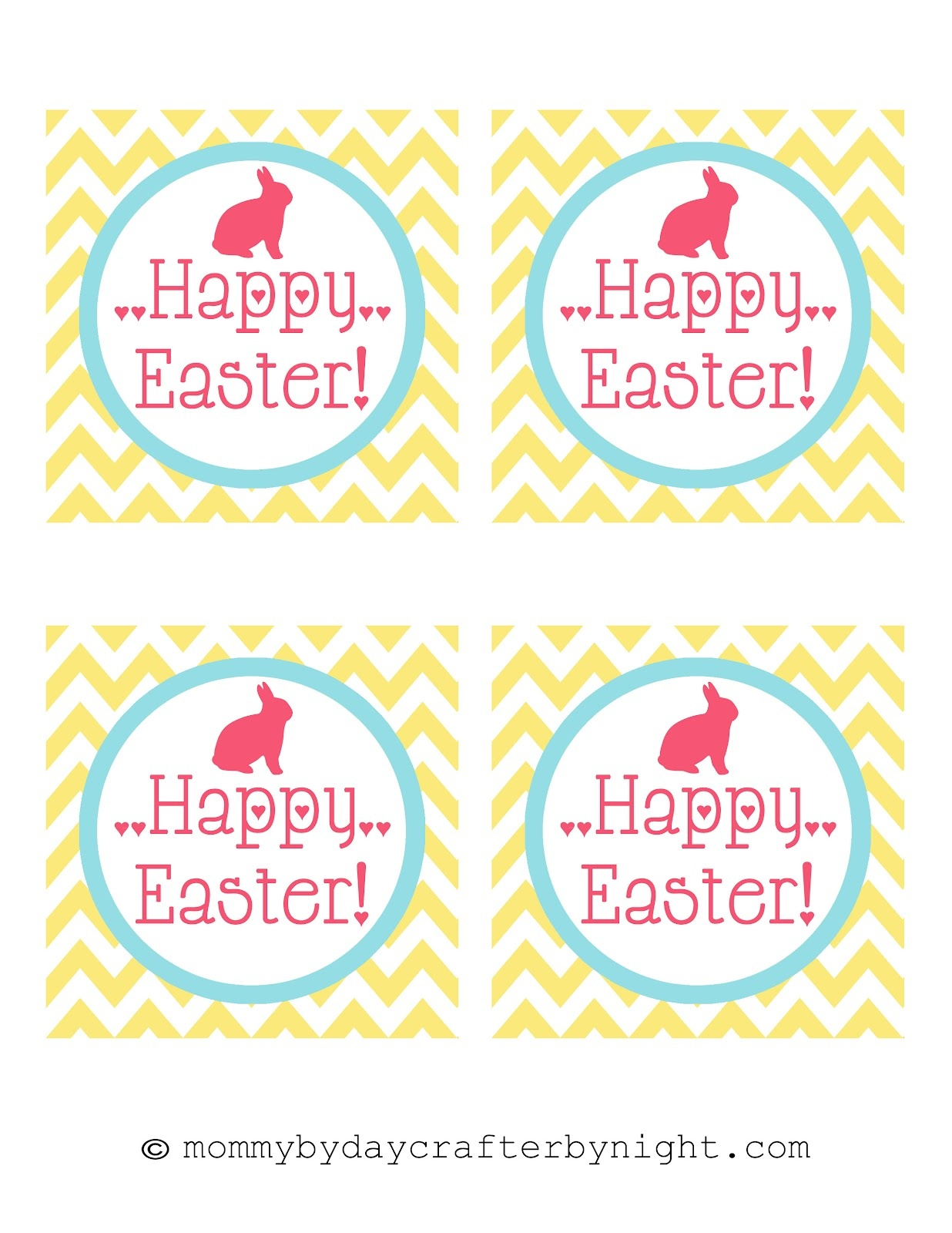 Free Easter Tags – Happy Easter & Thanksgiving 2018 - Free Easter Name Tags Printable