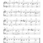 Free Easy Christmas Piano Sheet Music | What Child Is This? - Free Printable Classical Sheet Music For Piano