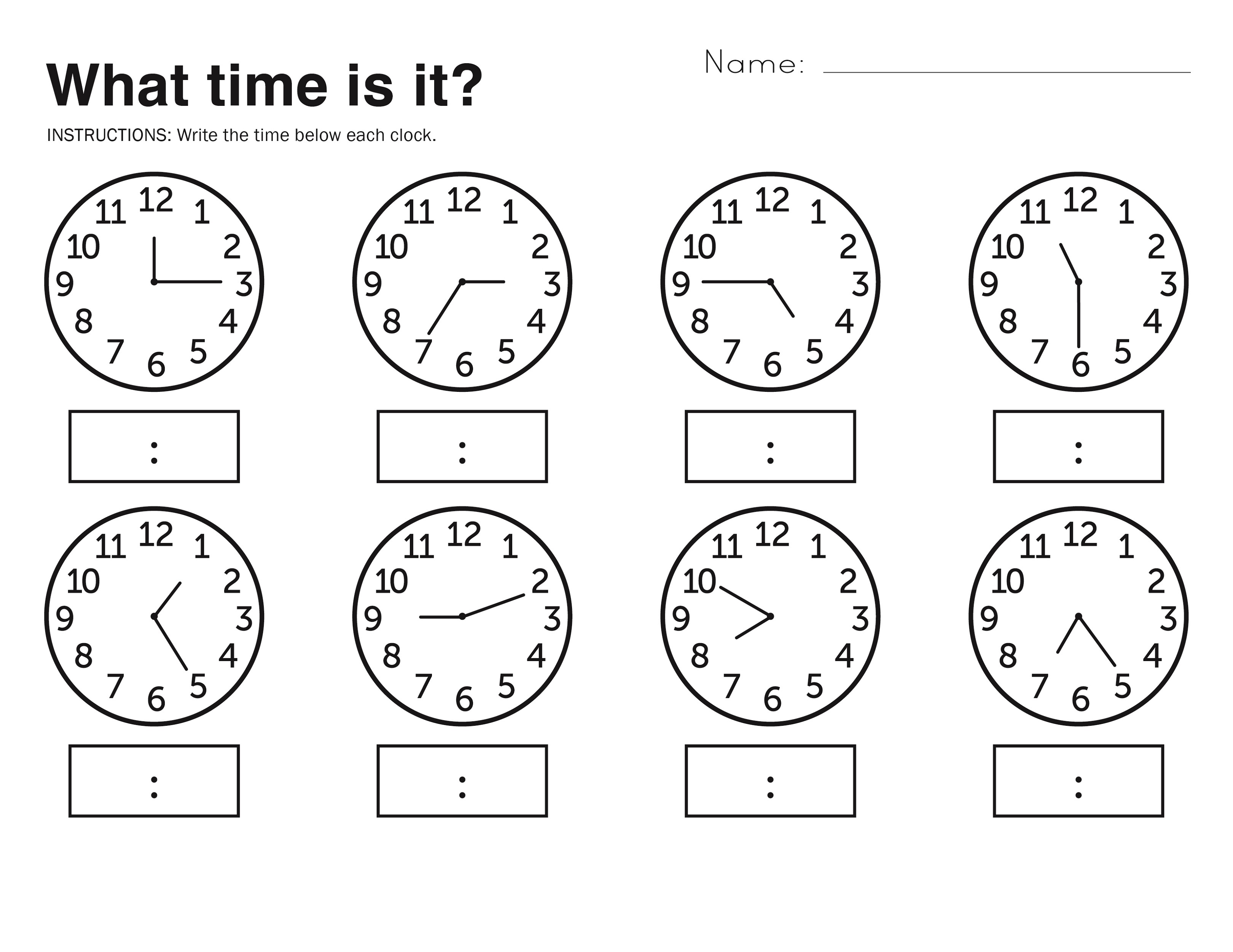 Free Easy Elapsed Time Worksheets | Activity Shelter - Elapsed Time Worksheets Free Printable