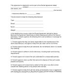 Free Easy Lease Agreement To Print | Free Printable Lease Agreement   Free Printable Lease Agreement